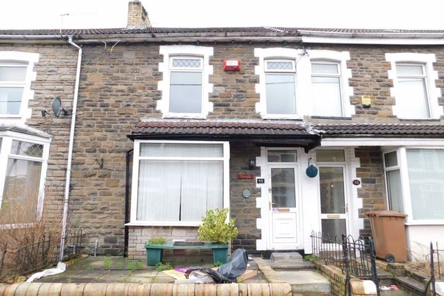 Thumbnail Terraced house for sale in South Street, Bargoed