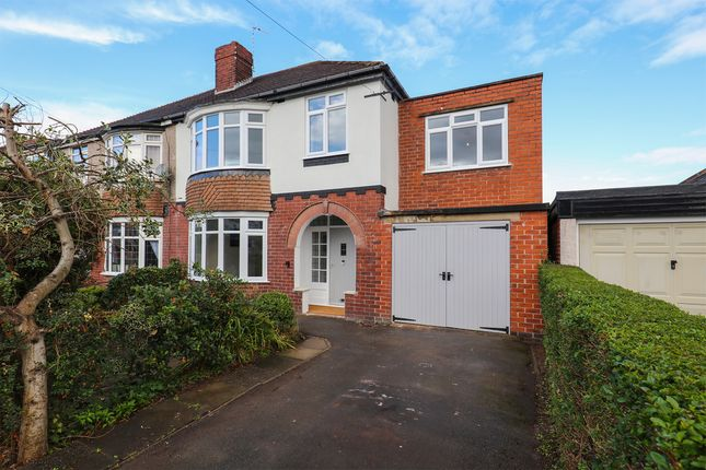 Thumbnail Semi-detached house for sale in Wingerworth Avenue, Sheffield