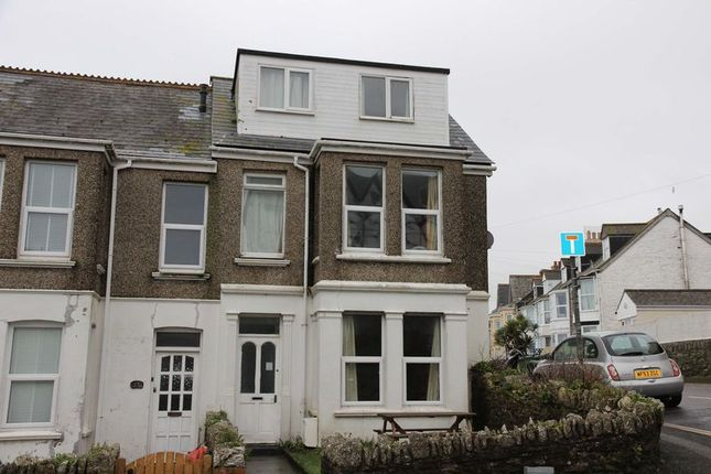 End terrace house for sale in Trenance Road, Newquay