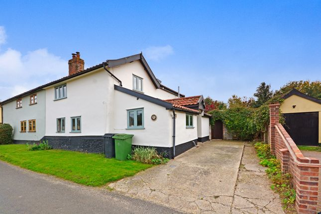 Thumbnail Semi-detached house for sale in Tibenham, Norwich
