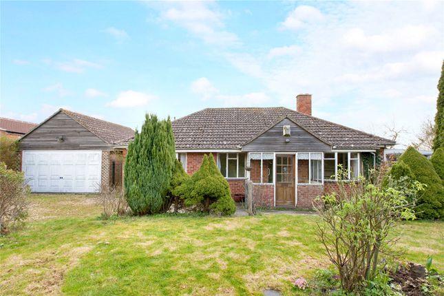 Thumbnail Detached bungalow for sale in Priest Acre, Fyfield, Marlborough, Wiltshire