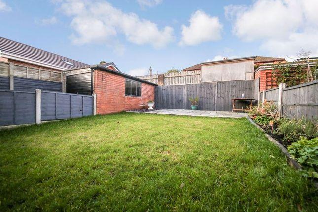 Garden of Kelway Terrace, Whelley, Wigan WN1