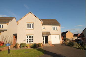 Thumbnail Detached house to rent in Kingfisher Place, Dunfermline