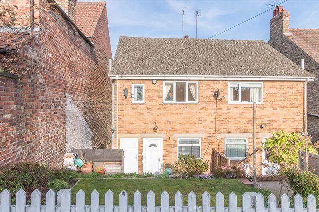 Thumbnail 2 bed semi-detached house to rent in Newbiggin, Malton