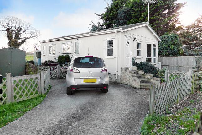 Thumbnail Mobile/park home for sale in Drayton Lane, Drayton, Chichester