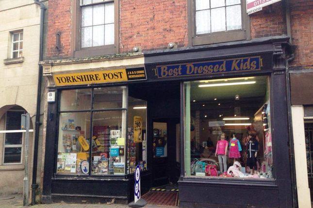 Thumbnail Retail premises for sale in Ripon HG4, UK