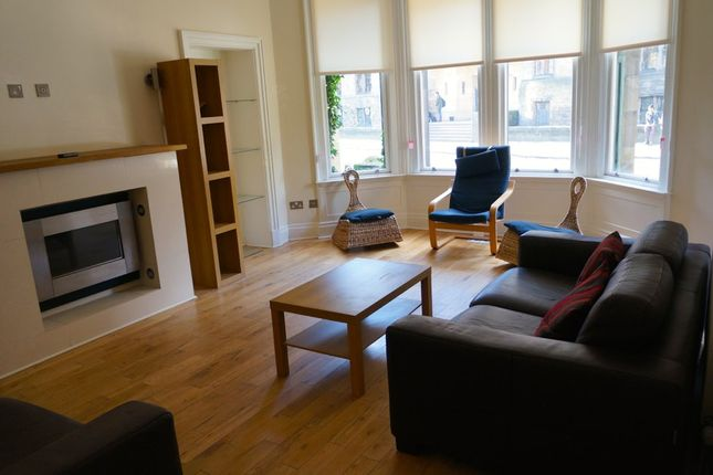 Thumbnail Flat to rent in University Avenue, Glasgow