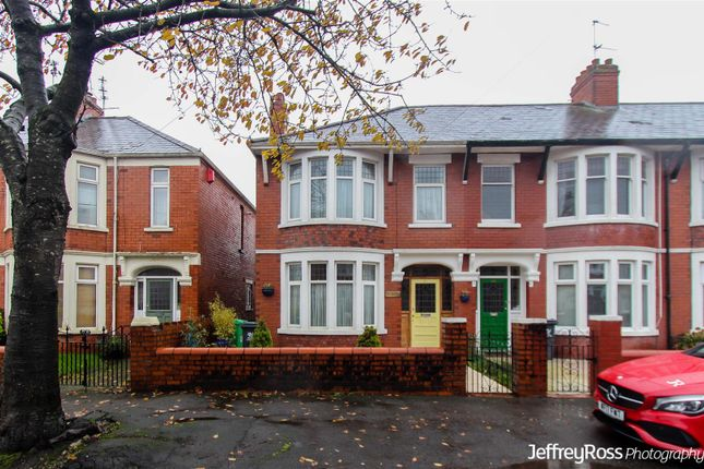 Thumbnail End terrace house to rent in Windway Avenue, Cardiff