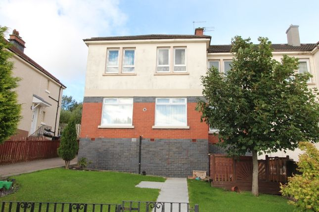 Thumbnail Flat to rent in Hamilton Drive, Airdrie, North Lanarkshire