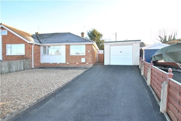 2 bed semi-detached bungalow for sale in St. Albans Close, Leckhampton, Cheltenham
