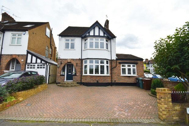 Thumbnail Detached house for sale in Hollywood Way, Woodford Green