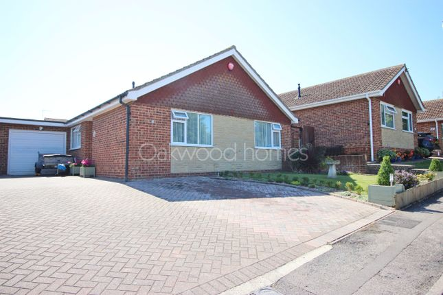 Thumbnail Detached bungalow for sale in Firbank Gardens, Margate