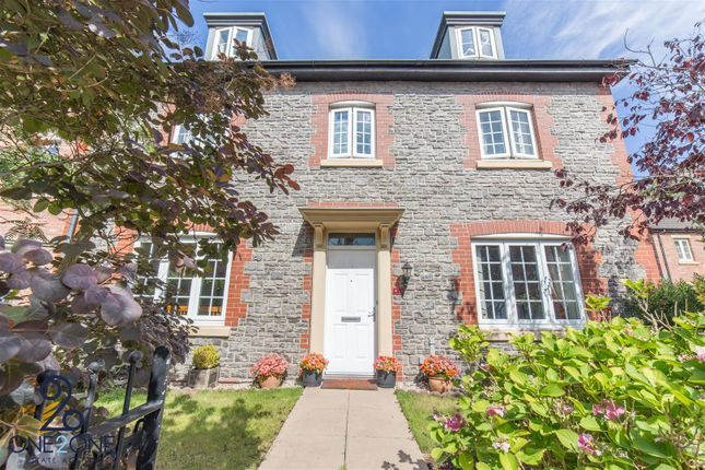 Thumbnail Detached house for sale in John Fielding Gardens, Llantarnam, Cwmbran