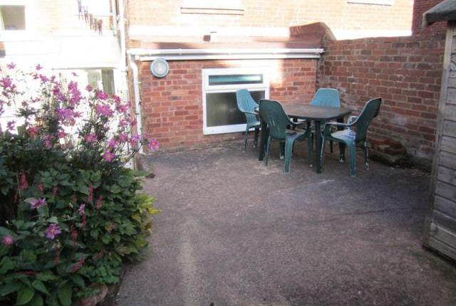Garden of Monkswell Road, Exeter EX4