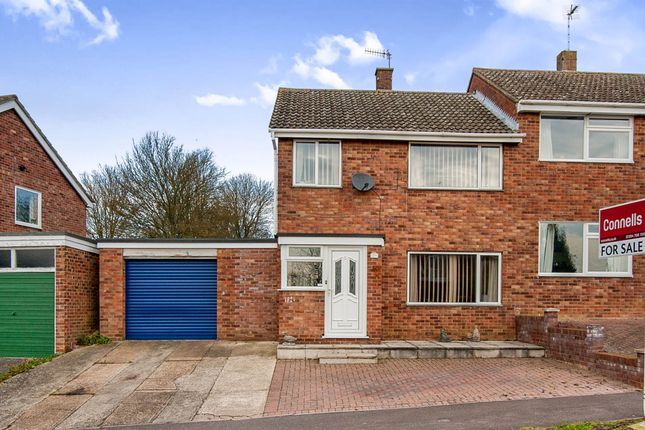 Thumbnail Semi-detached house for sale in Bockhill Road, Bury St. Edmunds