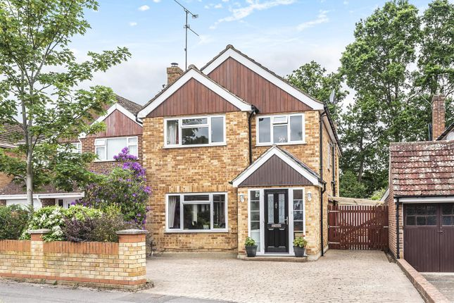 Thumbnail Detached house for sale in Larkswood Drive, Crowthorne, Berkshire