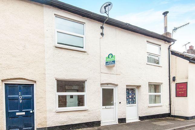 Thumbnail Terraced house to rent in Barrington Street, Tiverton