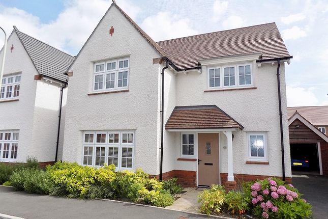 Thumbnail Detached house for sale in Gerddir Afon, Brynmenyn, Bridgend.