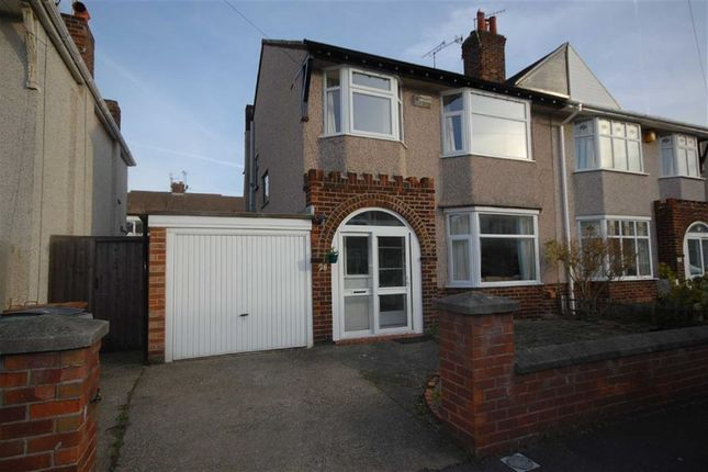 Thumbnail Semi-detached house to rent in Barmouth Road, Wallasey, Wirral
