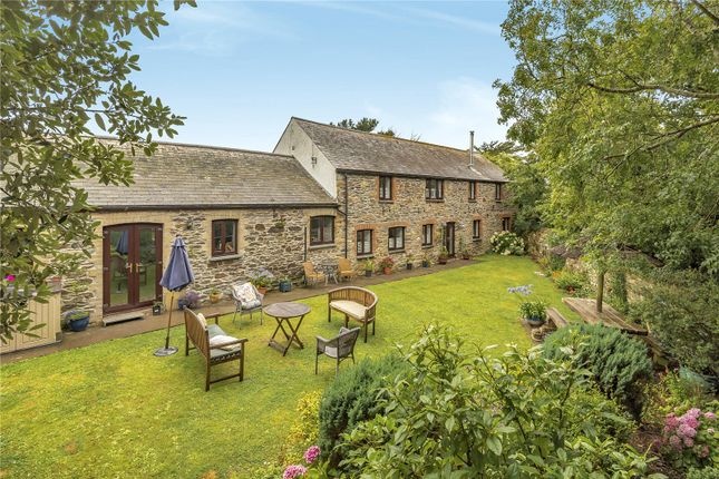 Thumbnail Barn conversion for sale in Trewolla, St. Newlyn East, Newquay, Cornwall