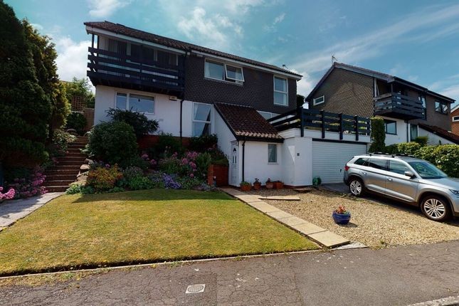Thumbnail Detached house for sale in Hawthorn Close, Portishead, Bristol