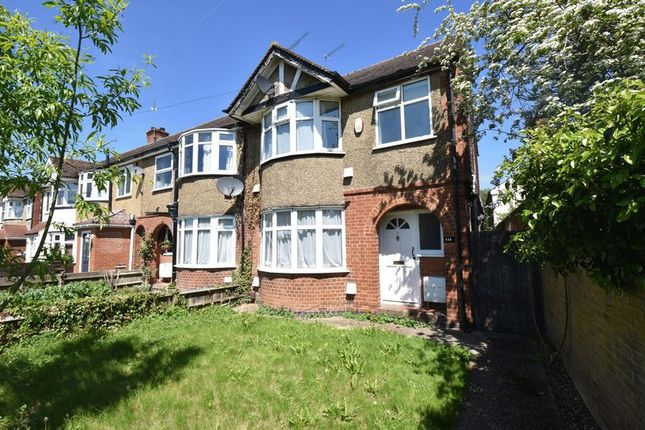 Thumbnail Terraced house to rent in London Road, Dunstable
