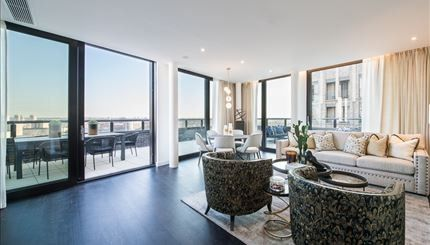 Thumbnail Property to rent in Thornes House, 4 Charles Clowes Walk, Battersea