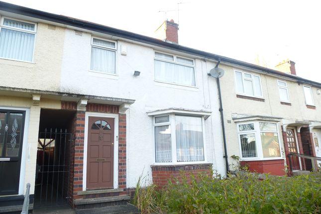 Thumbnail Terraced house for sale in Astbury Avenue, Bearwood, Smethwick