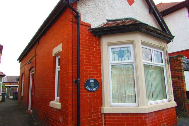 Thumbnail Bungalow to rent in Hornby Road, Blackpool, Lancashire