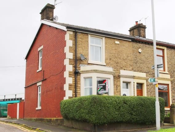 Thumbnail End terrace house for sale in Stopes Brow, Lower Darwen, Darwen, Lancashire