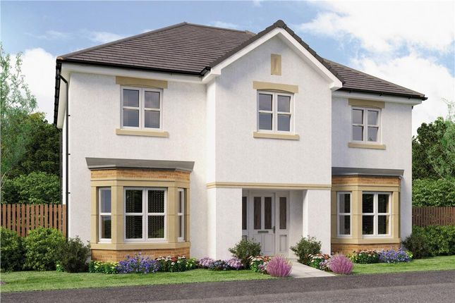 "Thumbnail Detached house for sale in ""Chichester"" at Broomhouse Crescent, Uddingston, Glasgow"