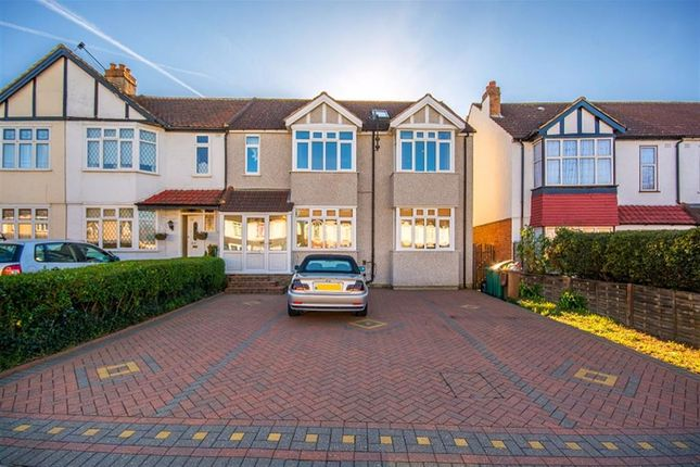 Thumbnail End terrace house for sale in Malden Road, North Cheam, Sutton