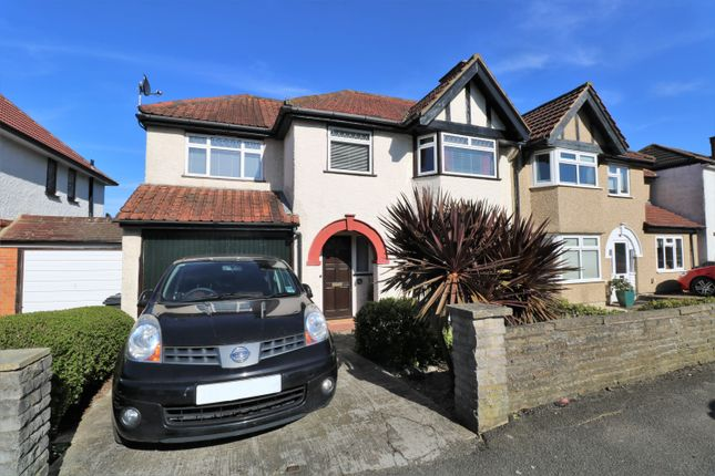Thumbnail Semi-detached house for sale in Upper Selsdon Road, South Croydon, Surrey