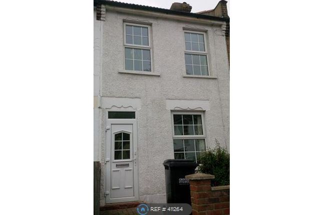 Thumbnail Terraced house to rent in Exeter Road, Croydon