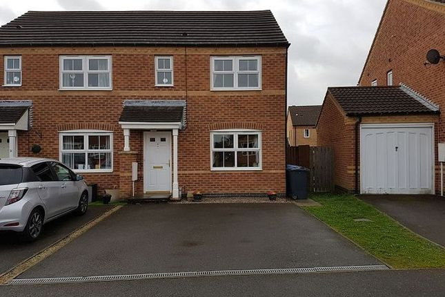 Thumbnail Semi-detached house to rent in Flinders Way, Cherry Willingham, Lincoln