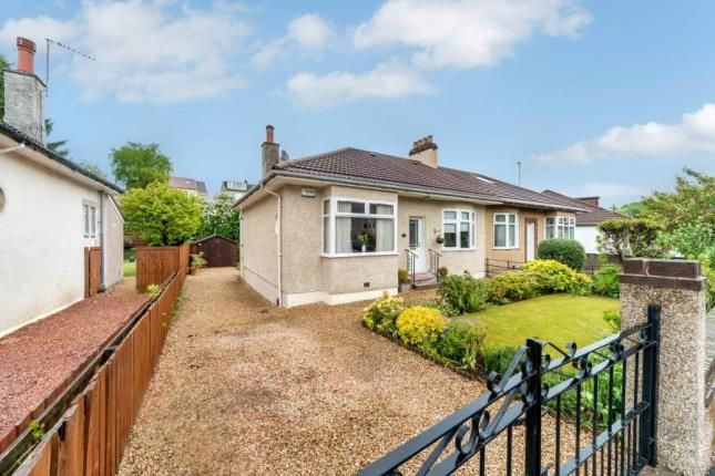 Thumbnail Bungalow for sale in Muirhill Avenue, Glasgow, Lanarkshire