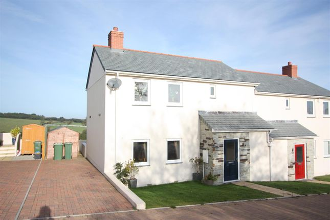 Thumbnail Semi-detached house to rent in Pen Y Morfa Close, St. Mawgan, Newquay
