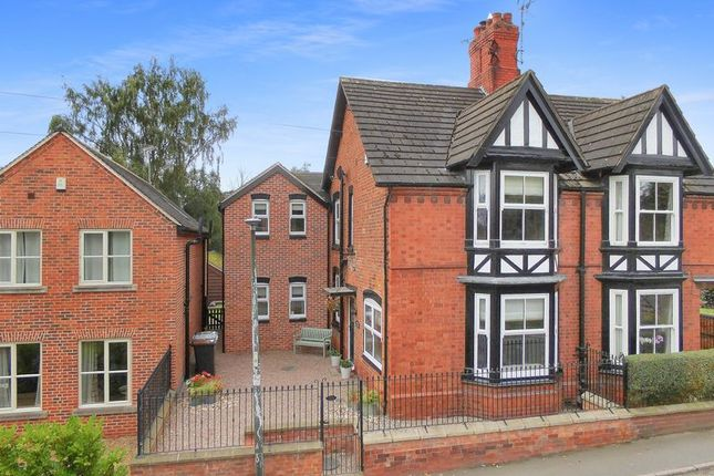 Thumbnail Semi-detached house for sale in Stafford Street, Audlem, Cheshire