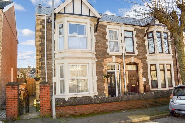 Thumbnail Semi-detached house for sale in Connaught Street, Port Talbot, Neath Port Talbot.