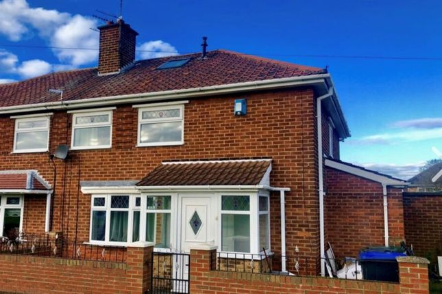 Thumbnail Semi-detached house to rent in Barnford Walk, Middlesbrough