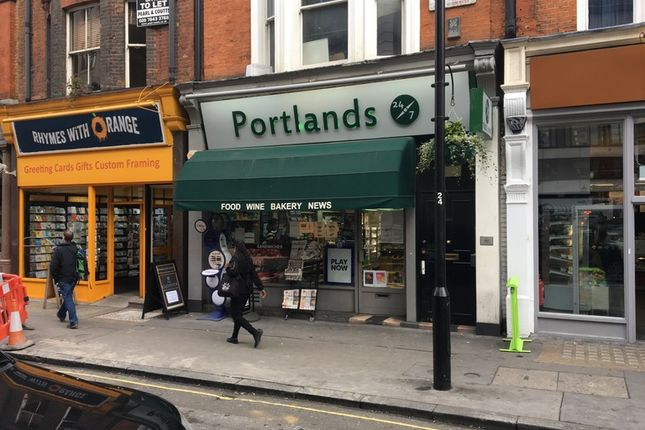 Thumbnail Retail premises to let in Great Portland Street, London