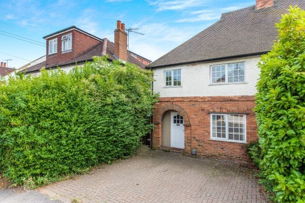 Thumbnail Property to rent in Weston Road, Guildford