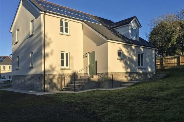 Thumbnail Detached house for sale in Plot 6, Green Meadows Park, Narberth Road, Tenby