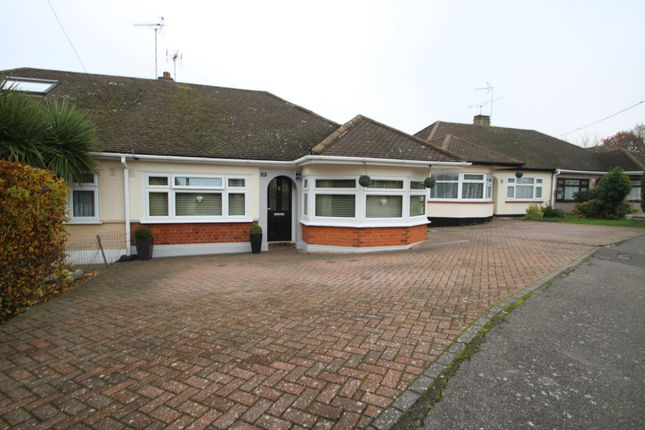 Thumbnail Semi-detached bungalow for sale in Willow Walk, Hockley