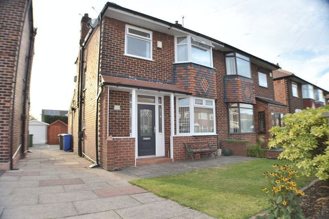 Thumbnail Semi-detached house for sale in Palmerston Road, Denton, Manchester