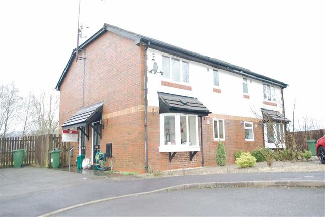 Thumbnail Terraced house for sale in Cefn Close, Glyncoch, Pontypridd