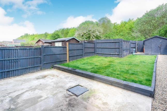 Garden of East Street, Warsop Vale, Mansfield, Nottinghamshire NG20