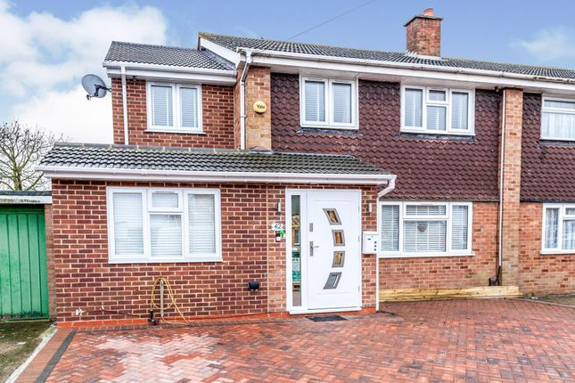 Thumbnail Semi-detached house for sale in Jordans Close, Staines-Upon-Thames