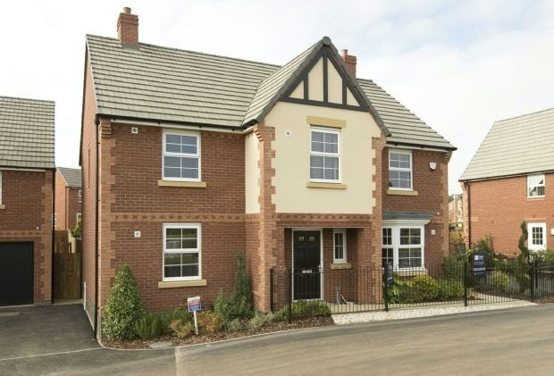 Thumbnail Detached house to rent in York Way, Harlestone Manor, Duston, Northampton