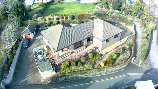 Thumbnail Bungalow for sale in 12 Dhailling Road, Kirn, Dunoon